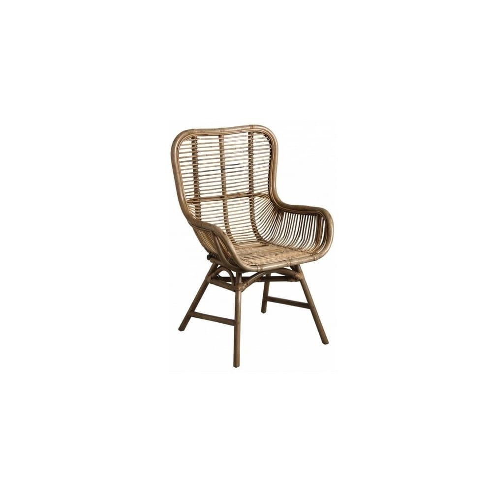 Chaise en rotin 65 cm