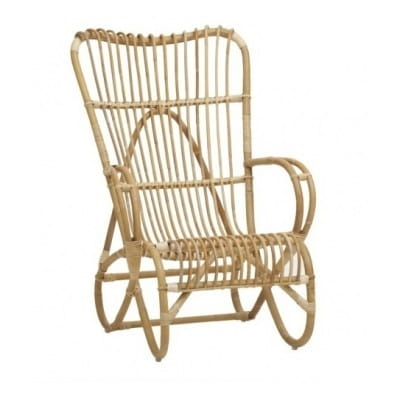 Rocking chair rotin, 97 cm