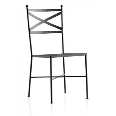 Chaise fer forgé, modèle Monaco, 93 cm
