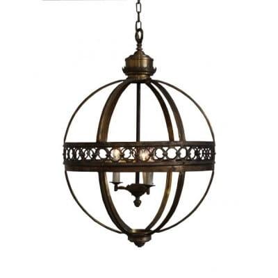 Lustre lanterne boule