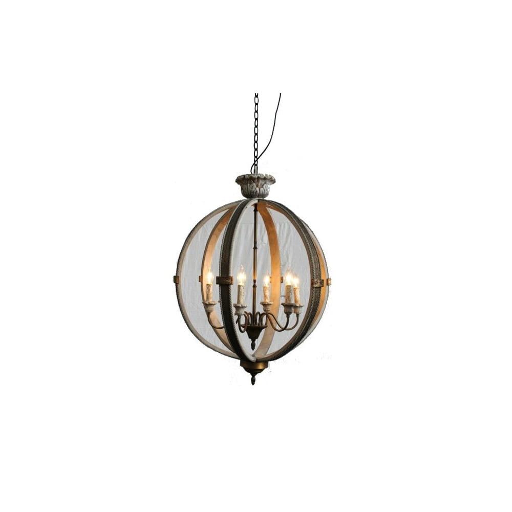 Lustre boule lanterne