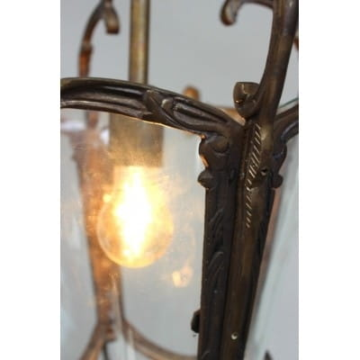 Lustre lanterne antique