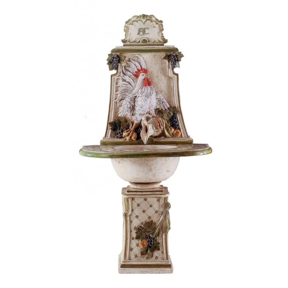 Fontaine Coq en céramique