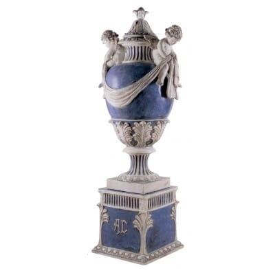 Vase d'ornement en céramique