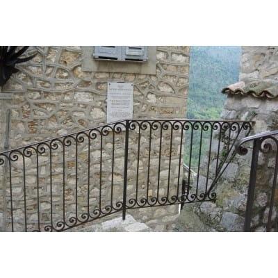 Garde corps du Château
