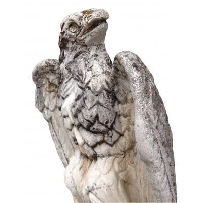 Aigle impérial pierre reconstituée