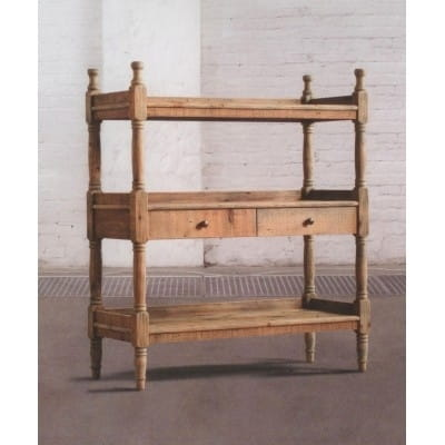 Étagère en bois ancien