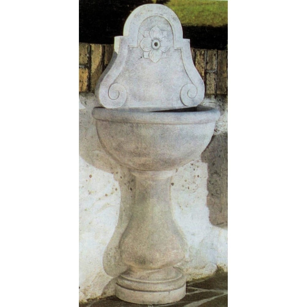 Fontaine Camogli pierre reconstituée