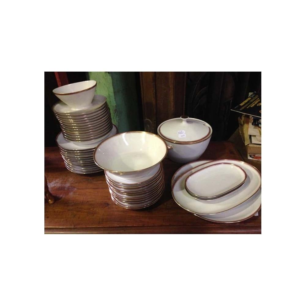 Service de table porcelaine BAVARIA