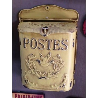 Boîte aux lettres déco