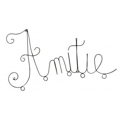 Mot Amitié en fer