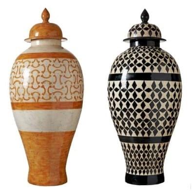 Grabd vase couvercle, H 120 cm