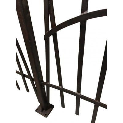 Poteaux en fer  pour barrière FDM13