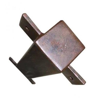 Poteaux en fer 50*50*4 mm