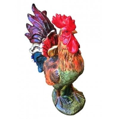 Coq en céramique, 60 cm