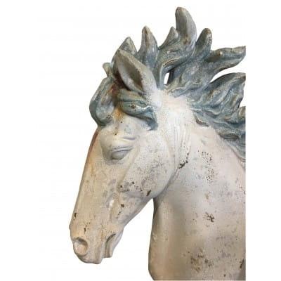 Buste tête de cheval, 60 cm