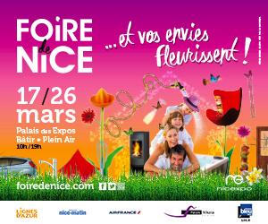 Rendez-vous annuel, La Foire de Nice annonce le Printemps