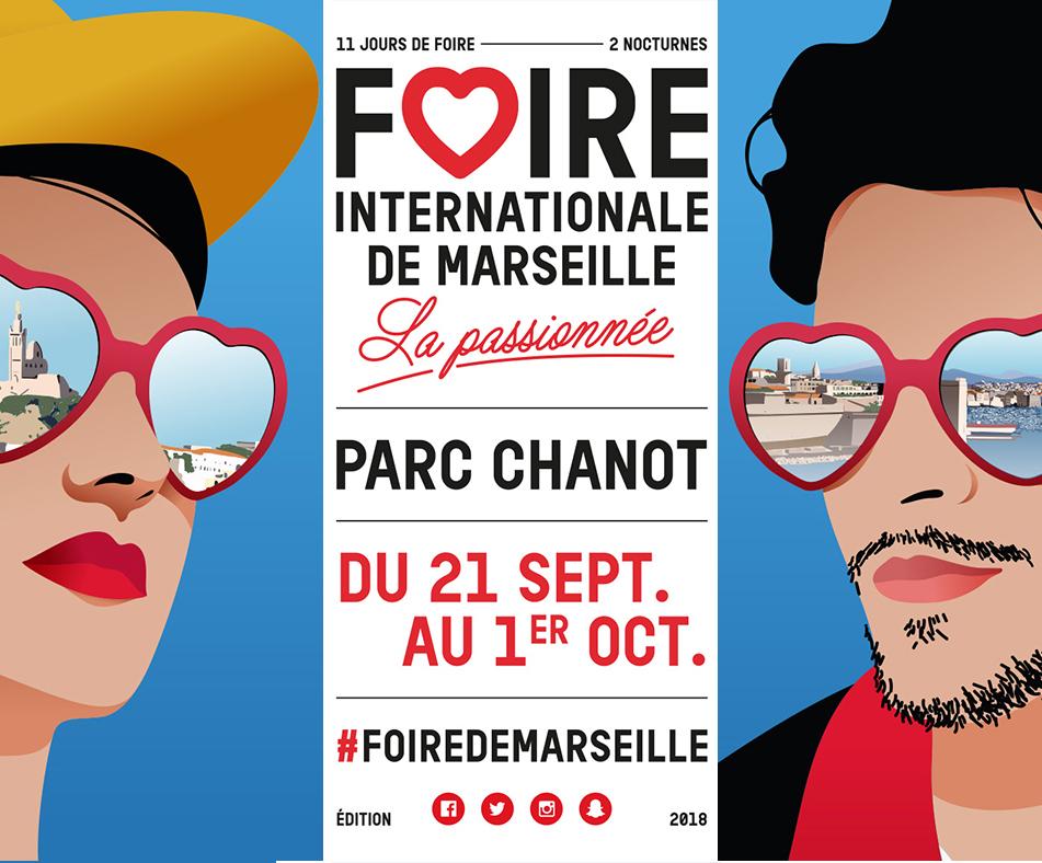 Lancement de l'automne déco à la Foire de Marseille