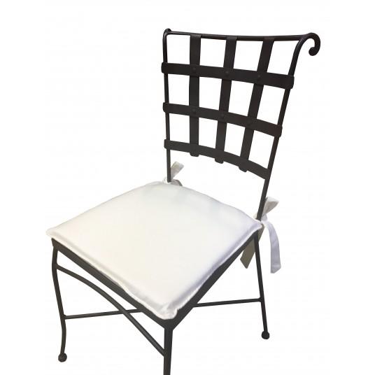Chaise fer forgé - Chaises et fauteuils en fer forgé peint