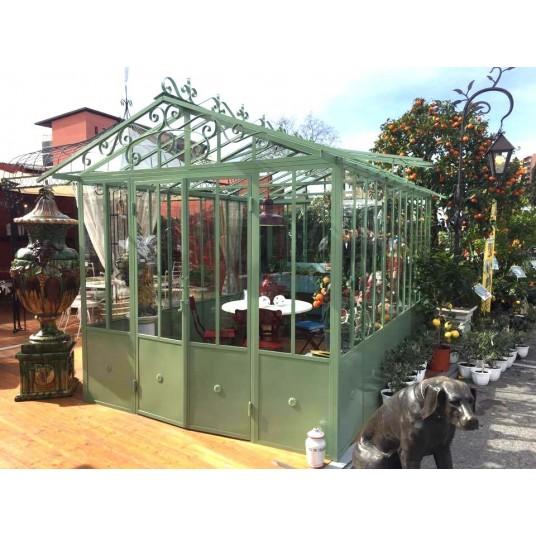 Pergola, tonnelle, serre et kiosque. Structure de couverture et d'ornement de l'extérieur
